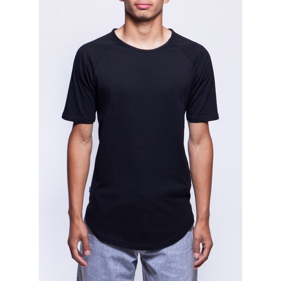 1d2fa496723 Fairplay Brand Raglan Black T-shirt -Large   XL